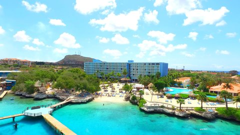 Curacao Hilton Hotel - View from Ocean