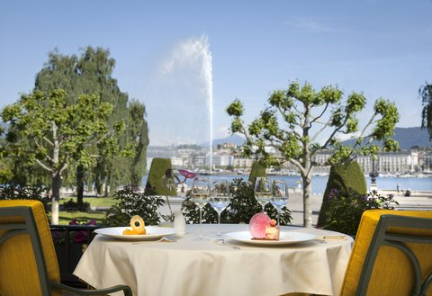Beau-Rivage, Geneva - The Terrasse