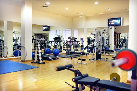 Ani Plaza Hotel - Fitness Center BF