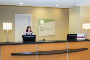Courteous service in a bright and inviting lobby