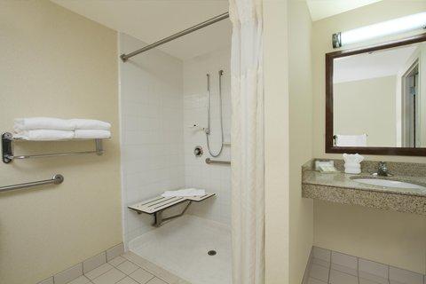 Hilton Garden Inn Columbus-University Area - Accessible Shower