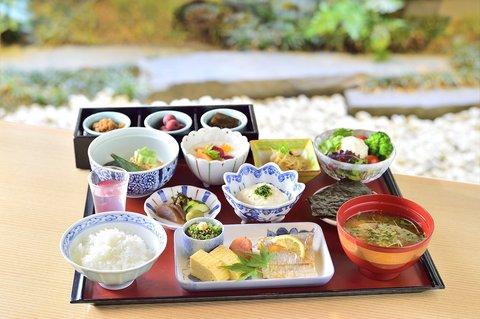 Hotel Nikko Fukuoka - Japanese restaurant Benkay breakfast
