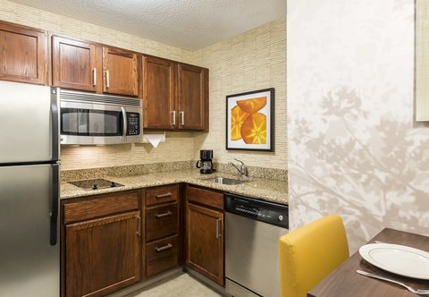Residence Inn by Marriott Macon - Studio   One-Bedroom Suite Kitchen
