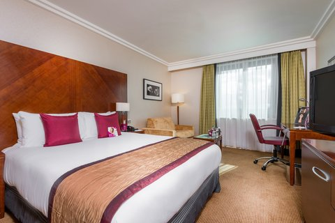 Crowne Plaza BIRMINGHAM NEC - Guest Room Queen bed with a lake view
