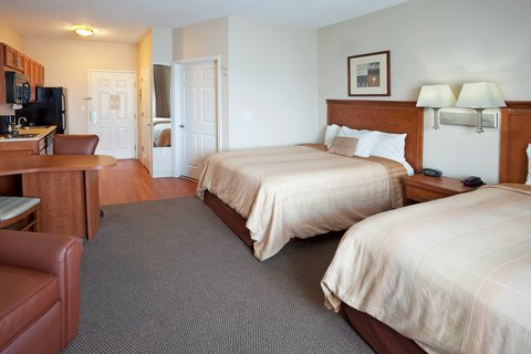 Candlewood Suites Corpus Christi - Spid Hotel - Double Bed Guest Room