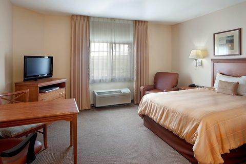 Candlewood Suites Corpus Christi - Spid Hotel - Enjoy a good nights sleep in our Studio