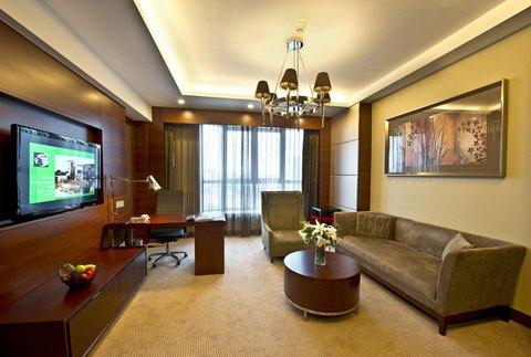 Holiday Inn Beijing Haidian - Holiday Inn Suite Room-Living Room