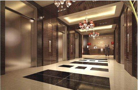 Crowne Plaza RIYADH - ITCC - Elevator Lobby