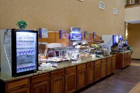 Holiday Inn Express & Suites ST. GEORGE NORTH - ZION - St George Hotel  Complimentary hot breakfast everyday