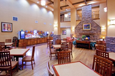 Holiday Inn Express & Suites ST. GEORGE NORTH - ZION - St George Hotel  Breakfast Area