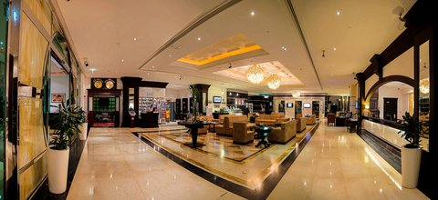 Holiday Inn BUR DUBAI - EMBASSY DISTRICT - Stay Welcome in our spacious lobby