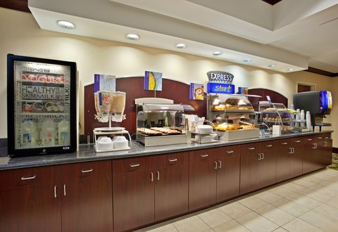 Holiday Inn Express & Suites DAYTON SOUTH FRANKLIN - Breakfast is served from 6 00 AM to 10 00 AM daily