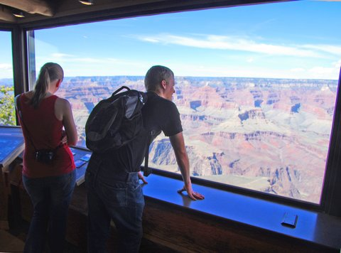 Holiday Inn Express & Suites GRAND CANYON - Outstanding views from the Yavapai Geology Museum