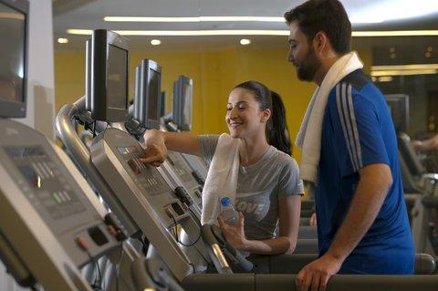 فندق كراون بلازا أبوظبي, جزيرة ياس  - Get a Great workout at our 24 hour Health Club