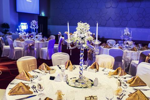 فندق كراون بلازا أبوظبي, جزيرة ياس  - Banquet Setup