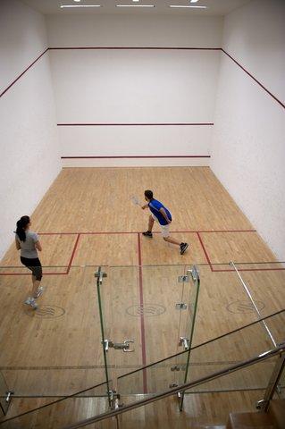 فندق كراون بلازا أبوظبي, جزيرة ياس  - Enjoy a spirited game of squash on our inhouse squash court
