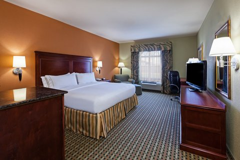 Holiday Inn Express & Suites AMARILLO EAST - ADA Handicapped accessible King Guest Room
