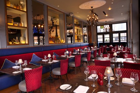 Holiday Inn GLASGOW - CITY CTR THEATRELAND - Our AA Rosette Brasserie - La Bonne Auberge