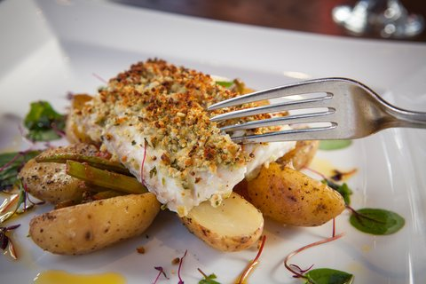 Holiday Inn GLASGOW - CITY CTR THEATRELAND - Locally sourced fresh Scottish cod