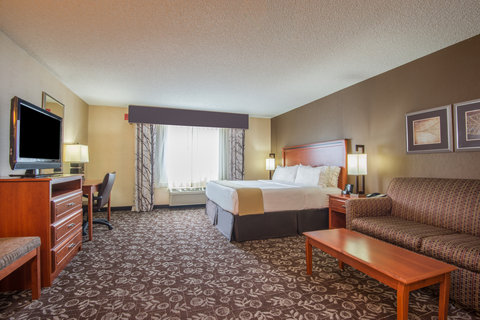 Holiday Inn Express CASPER-I-25 - King Suite with pull out couch  hearing impaired