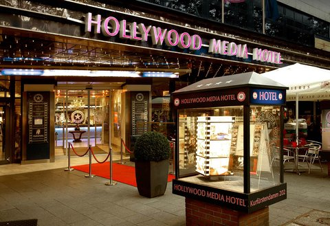 Hollywood Media Hotel Berlin - Exterior