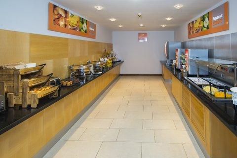 Holiday Inn Express HAMILTON - Tea  Coffee  Orange juice  The decision is yours