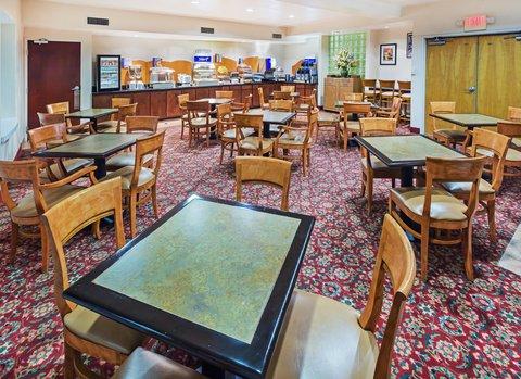 Holiday Inn Express & Suites Arlington (Six Flags Area) - Breakfast Area