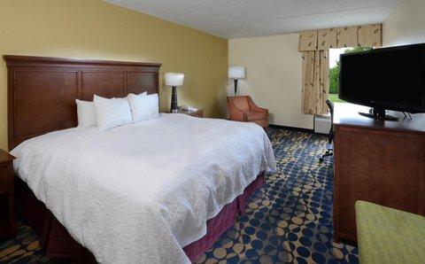 Hampton Inn Fayetteville - Cross Creek Mall - King Bed