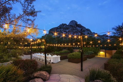 Boulders Resort & Golden Door Spa - Outdoor Event at Night
