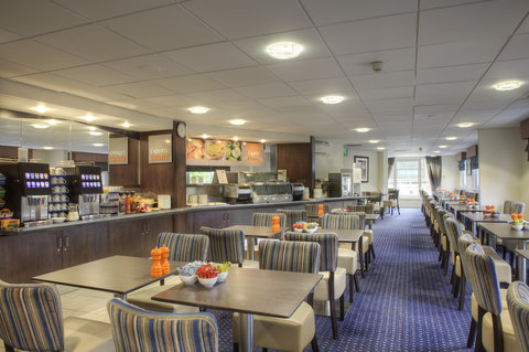 Holiday Inn Glasgow City Centre Theatreland Hotel - Great Room featuring continental buffet breakfast with 3 hot items