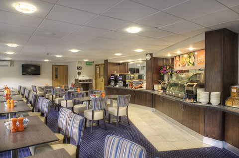 Holiday Inn Glasgow City Centre Theatreland Hotel - breakfast room