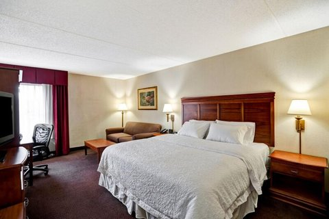 Hampton Inn Albany-Wolf Road - King Study