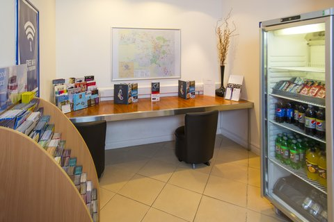 Holiday Inn Express CAMBRIDGE - Feeling peckish  Grab a snack from our vending fridge at Reception