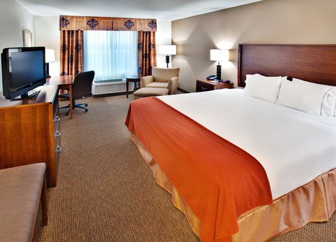 Holiday Inn Express & Suites DUBUQUE-WEST - Holiday Inn Express and Suites  Dubuque IA Single Bed Guest Room
