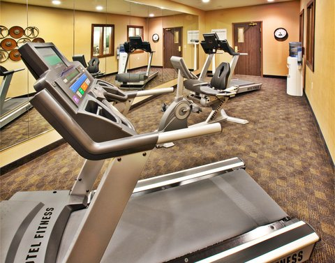 Holiday Inn Express & Suites DUBUQUE-WEST - Dubuque Holiday Inn Express   Suites - Fitness Room