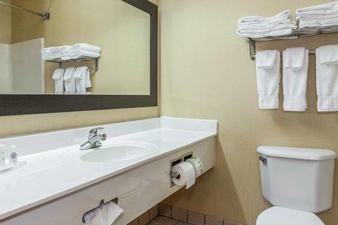 Comfort Suites North Ft Wayne Hotel - Bathroom