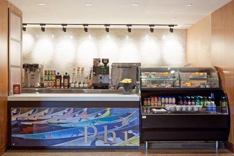 Hotel Indigo BOSTON-NEWTON RIVERSIDE - BOKX Caf