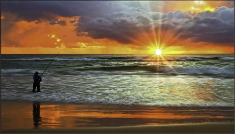 Holiday Inn Miami Beach - Oceanfront - Morning beach fishing near Holiday Inn Miami Beach Oceanfront
