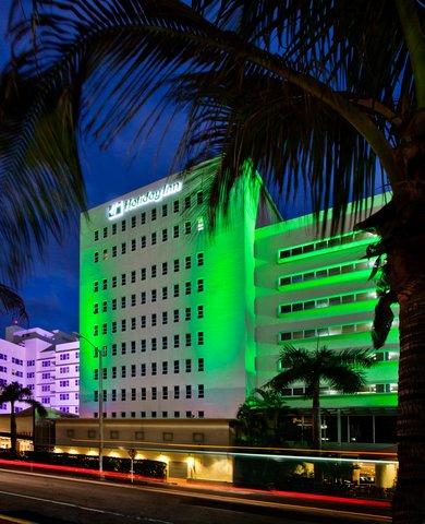 Holiday Inn Miami Beach - Oceanfront - Holiday Inn Miami Beach Oceanfront Palm Front Exterior View