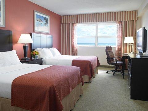 Holiday Inn Miami Beach - Oceanfront - Holiday Inn Miami Beach Oceanfront 2 double beds 42 inch TV