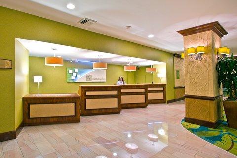 Holiday Inn Miami Beach - Oceanfront - Holiday Inn Miami Beach Oceanfront Reception Desk