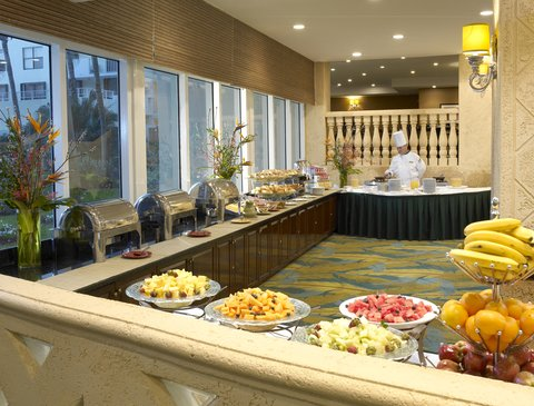 Holiday Inn Miami Beach - Oceanfront - Holiday Inn Miami Beach Oceanfront Breakfast Buffet