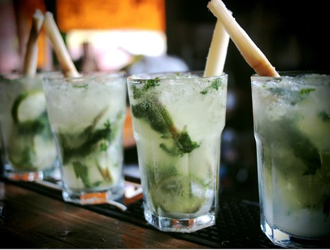 Holiday Inn Miami Beach - Oceanfront - Catered Mojitos at the Holiday Inn Miami Beach Oceanfront
