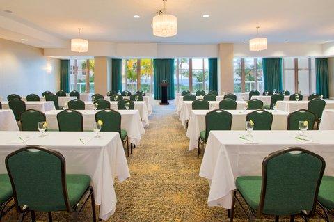 Holiday Inn Miami Beach - Oceanfront - Holiday Inn Miami Beach Oceanfront Fantasy Room classroom set