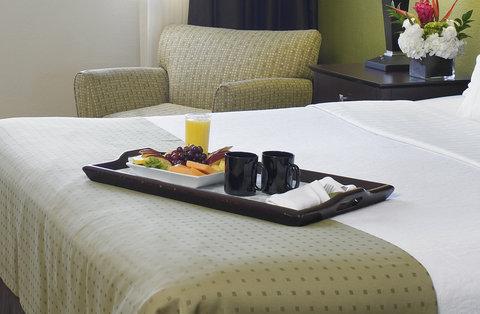 Holiday Inn Miami Beach - Oceanfront - Morning Room Service Holiday Inn Miami Beach Oceanfront
