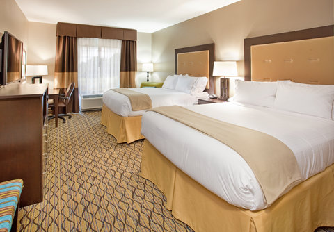 Holiday Inn Express & Suites ST. JOSEPH - Double Queen Guest Room