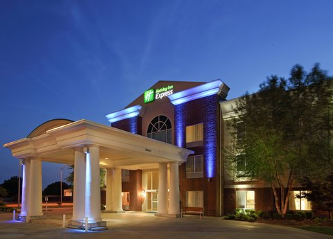 Holiday Inn Express Fort Smith Executive Park Hotel - Hotel Exterior