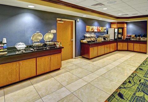 Fairfield Inn & Suites Naples - Breakfast Buffet