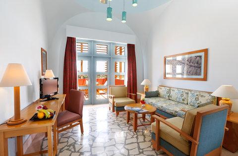 شتيجنبرجر جولف ريزورت الجونة - SHR Golf Resort El Gouna Junior Suite Living