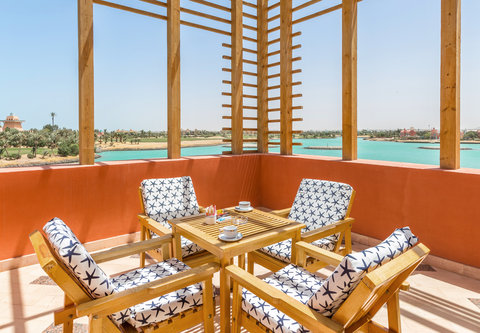 شتيجنبرجر جولف ريزورت الجونة - SHR Golf Resort El Gouna Junior Suite Terrace